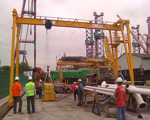 Ellsen A type single girder gantry crane for sale