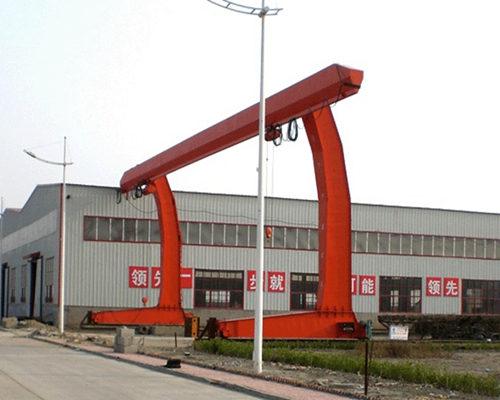 L type 15t single girder gantry crane for sale
