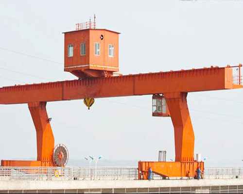 L type single girder gantry crane in low price for sale