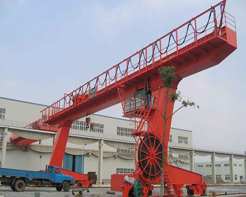 L type single girder hook gantry crane for sale