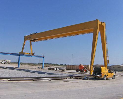 amazing designed girder semi gantry crane