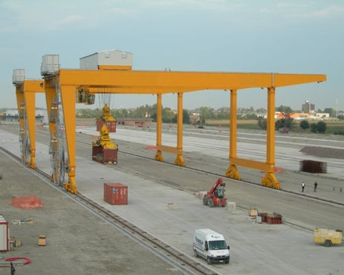 Ellsen best rail mounted gantry crane design for sale