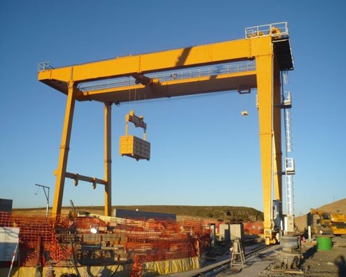 Ellsen cheap price rail mounted gantry crane for sale