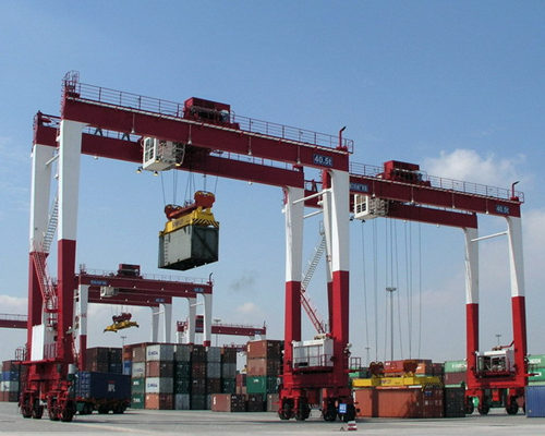 Ellsen container lifting gantry cranes for sale