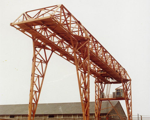Ellsen double truss girder gantry crane for sale