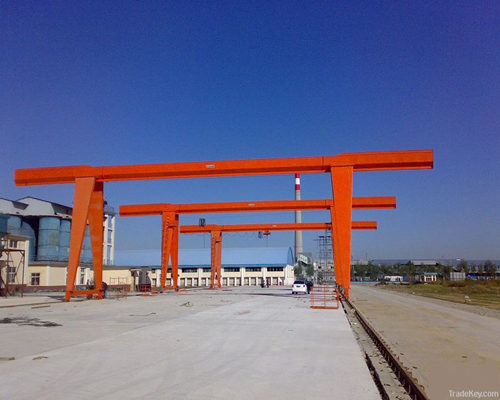 electric hoist single girder lifting cantilever gantry crane for sale