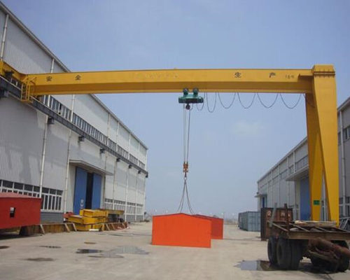 Ellsen good electric semi gantry crane for sale