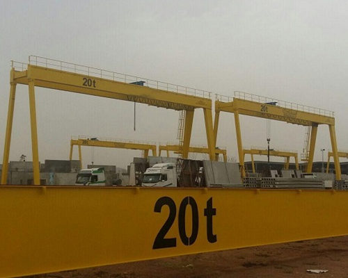 Ellsen high quality 20 ton gantry crane for sale