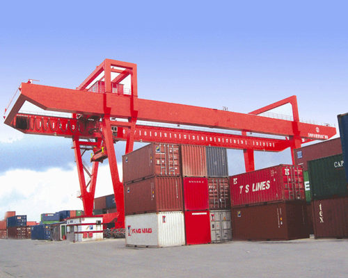 Ellsen high quality container gantry crane for sale