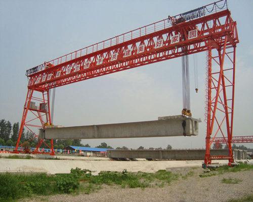 high quality double girder hook gantry crane for sale