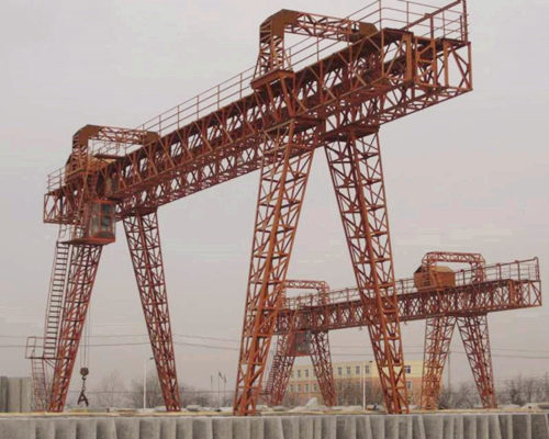 high quality truss double girder gantry crane for sale