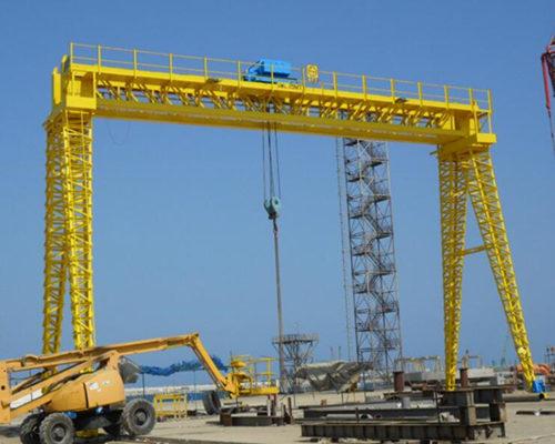 Ellsen hoist gantry crane 20 ton for sale