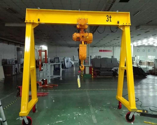 light weight gantry crane with low price for sale