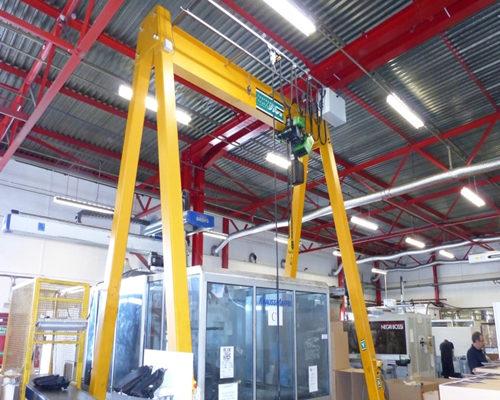 Ellsen mini mobile gantry crane for sale