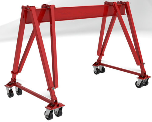 Ellsen portable gantry crane for sale
