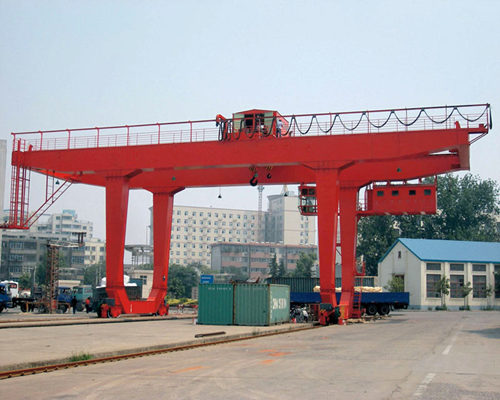 Ellsen rail mounted gantry crane for sale