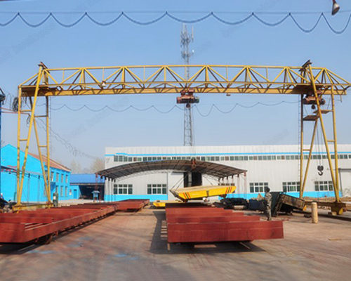 Ellsen single girder gantry truss crane for sale