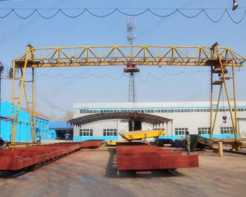 Ellsen single girder gantry truss crane for sale