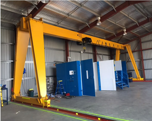 single girder rail mounted gantry cranes for sale