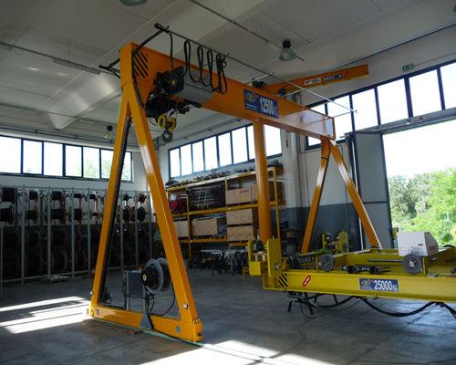 Ellsen single girder travelling gantry crane for sale