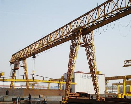 truss structure gantry crane 20t in low price for sale