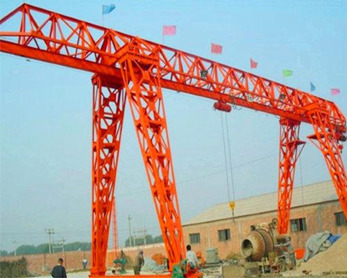 Ellsen trussed single beam gantry crane for sale
