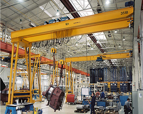 Ellsen well performance semi gantry crane 5 ton for sale