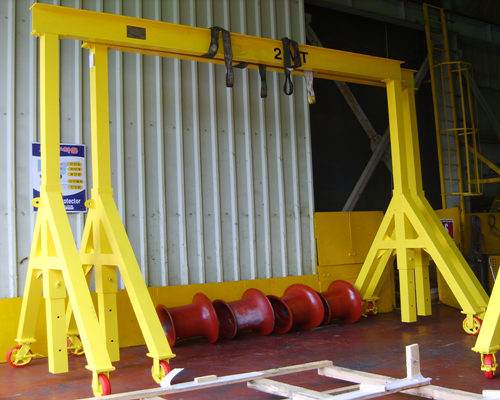 Mobile gantry cranes with lifetime maintenance for sale