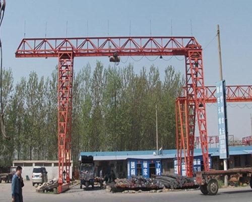 Single girder cantilevered gantry crane for sale
