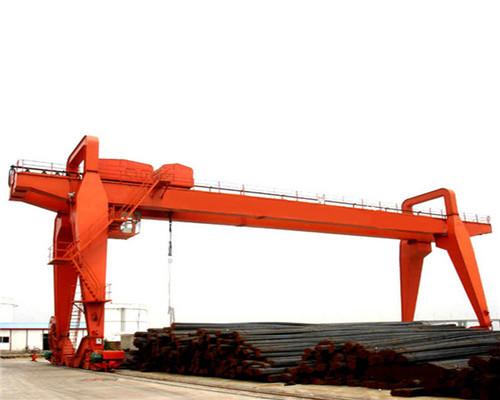 workers seal gantry crane girder