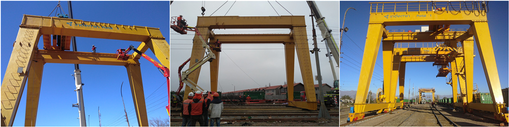 Gantry Crane Installation In Chile- High Quality and