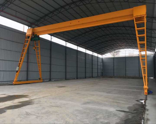 10 Ton Electric Single Girder Gantry Crane for Sale