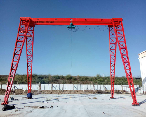 Excellent truss 10 ton gantry crane for sale