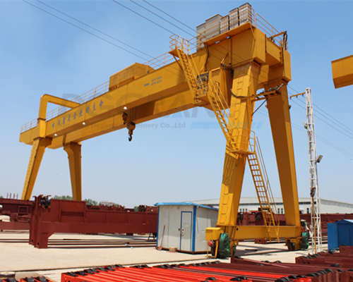Excellent factory price gantry crane 100t for sale