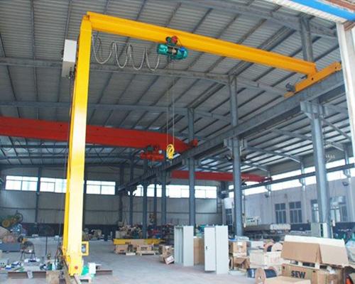 Semi gantry crane 3 ton from supplier