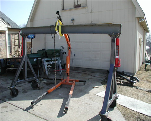 Fixed 4 ton gantry crane with i beam for sale
