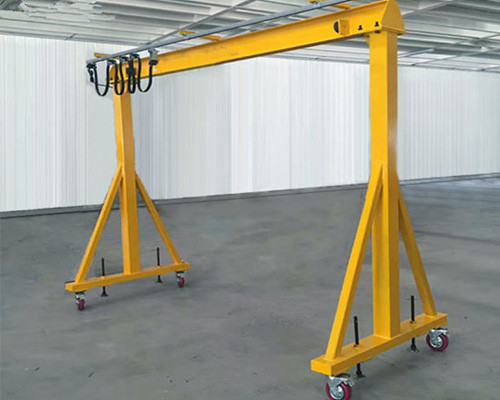 Low price steel factory 1 ton gantry crane for sale