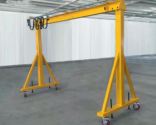 Low price steel factory 1 ton gantry crane for sale