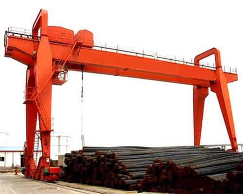 Double girder gantry crane 20t for sale