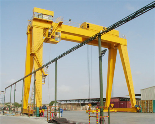 reliable double beam gantry crane