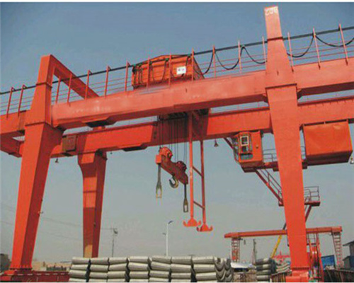 gantry crane has different types and tons.