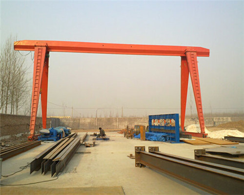 excellent single girder gantry crane