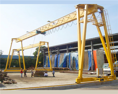 5 ton workshop small lifting gantry crane