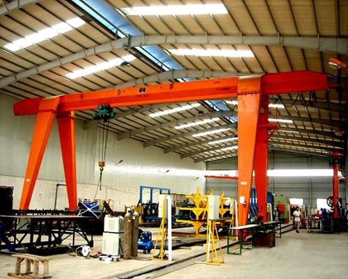 10t electric hoist gantry crane for sale