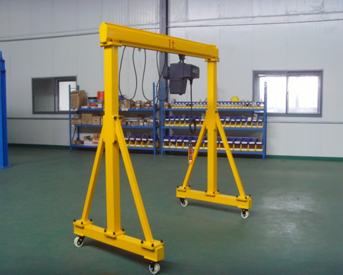 1 Ton manual Gantry Crane For Sale