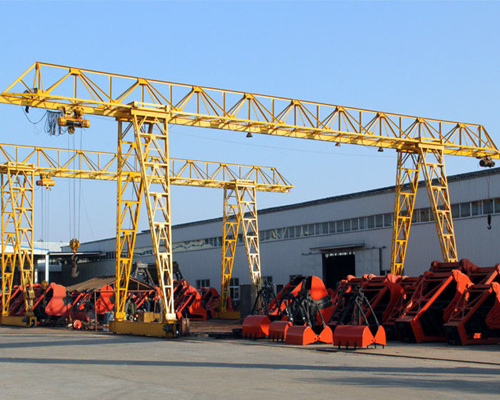 Single girder truss 20 ton gantry crane with cheap price for sale