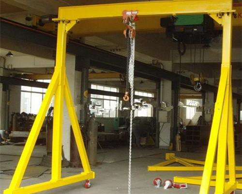 single girder electric gantry crane 1 ton for sale