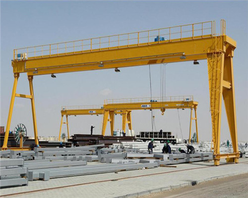 Double girder 20 ton gantry crane with cheap price for sale