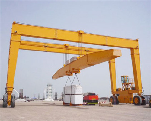 rubber tire gantry crane for sale