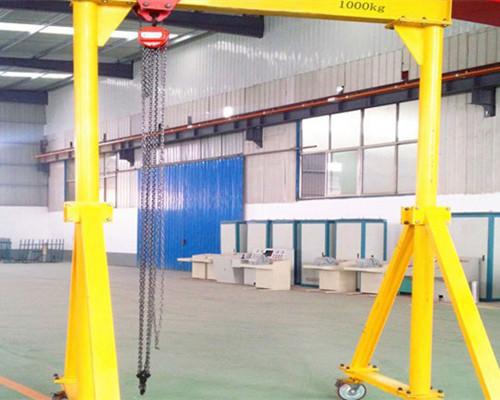 steel structure 1 ton gantry crane for sale